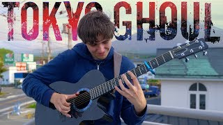 Download Unravel - Tokyo Ghoul OP 1 [Full Version] Fingerstyle Guitar Cover Video