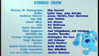 Download Blue's Clues - Blue's Big Holiday VHS Closing Credits (2001) Video