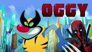 Download 🔥NEW SEASON 5🔥 Oggy and the Cockroaches ⛔ DEADPOOL ⛔ (S05E63) Full Episode in HD Video