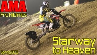 Download Stairway to Heaven spring AMA Pro Hillclimbs 2013, Oregonia, Ohio Video