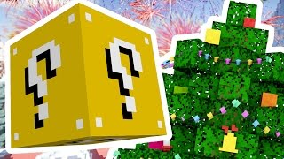 Download Minecraft 1V1V1V1 SKY ISLAND SUPERHERO CHRISTMAS LUCKY BLOCK BATTLES! | (Minecraft Modded Minigame) Video