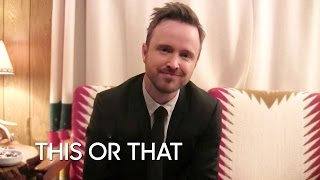 Download This or That: Aaron Paul Video