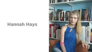 Download Interview with Hannah Hays Video