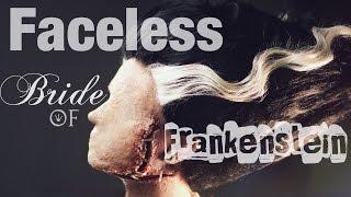 Download Faceless Bride of Frankenstein Makeup Tutorial Video