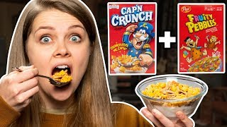 Download Crazy Cereal Combos Taste Test Video