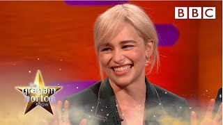 Download Emilia Clarke explains why Brad Pitt gave her the best night of her life | The Graham Norton Show Video