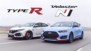 Download 2019 Honda Civic Type R vs Hyundai Veloster N Review - Battle of the Hottest Hatches Video