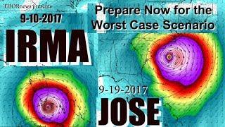 Download Hurricane Irma & Jose = Texas to East Coast USA - Prepare & Plan NOW! Video