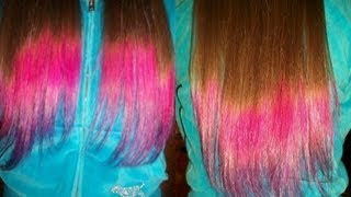 Download DIY | Dip Dye/Ombre Hair Two Colors Video