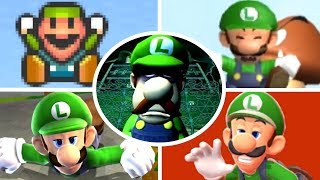 Download Evolution of Luigi Deaths and Game Over Screens (1983-2017) Video
