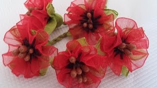 Download kurdele oyası gelincik çiçeği yapılışı-How do I make poppy poppy flowers? Video