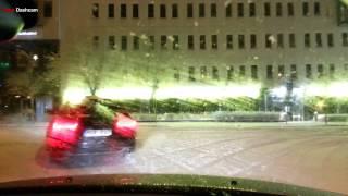 Download Turbo Dashcam #5 - Wrong lane in Stockholm Video