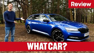Download 2020 Skoda Superb Estate review – why it's the best estate on sale | What Car? Video