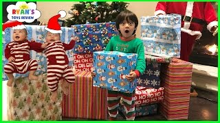 Download Christmas Morning 2016 Opening Presents with Ryan ToysReview Video