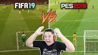 Download FIFA 19 vs PES 2019 COMPARAÇÃO!! QUEM VENCEU?! (GAMEPLAY, GRÁFICOS ETC) Video