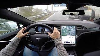 Download Tesla Autopilot (Model S) - POV Test Drive Video