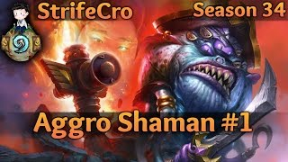 Download Hearthstone Aggro Shaman S34 #1: Going too Fast Video