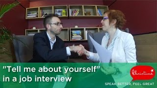 Download Answering 'Tell me about yourself' in a Job Interview – English Speaking Video