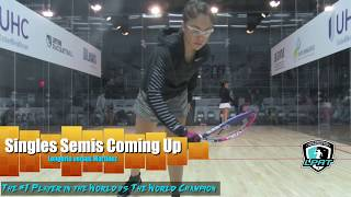 Download US OPEN 2018 Women's Pro Singles Semis Longoria vs Martinez Video
