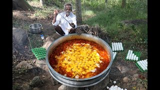 Download World Largest Scrambled EGG Prepared by My Daddy ARUMUGAM / Village food factory Video