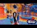 Download BIGGEST Harry Bunnie DinoCore Indoor Theme Park Kids Fun Video CKN Toys Video