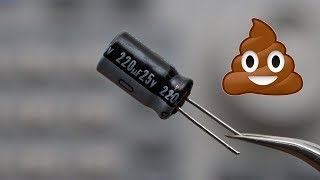 Download Why electrolytic capacitors are actually kinda shitty 💩 Video