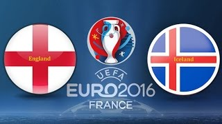 Download England v Iceland | Glasgow Reaction Video