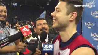 Download Matthew Dellavedova to Guillermo from Jimmy Kimmel on why LeBron is mean to him: ″Maybe he's a Jimmy Video