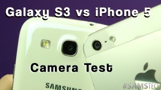 Download iPhone 5 vs Galaxy S3 Camera Test (Controlled) Video