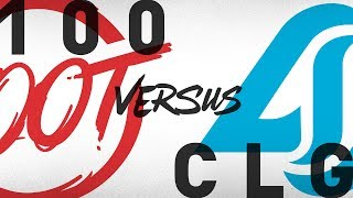 Download 100 vs. CLG - Week 6 Day 2 | NA LCS Summer Split | 100 Thieves vs. Counter Logic Gaming (2018) Video