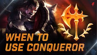 Download Champions you should and shouldn't use Conqueror on - LoL Guide Video