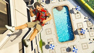 Download GTA 5 Jumping Fails - Funny Moments Video