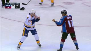 Download Iginla and former teammate McLeod exchange fists of fury Video