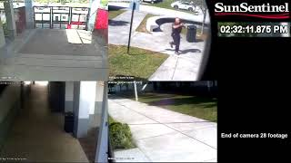 Download Full video: Surveillance video from outside Marjory Stoneman Douglas on day of shooting Video