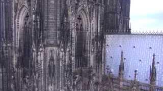 Download Inspection flight of the Kölner Dom, Germany Video