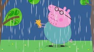 Download Свинка Пеппа на русском все серии подряд - Свинка Пеппа и гроза - Мультики Video