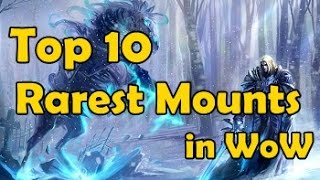 Download Top 10 Rarest Mounts in WoW Video