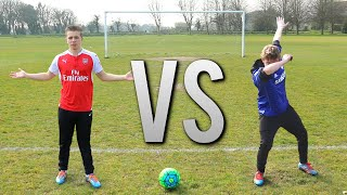 Download JERSEY VS GUERNSEY | FOOTBALL CHALLENGES ft. WROETOSHAW Video