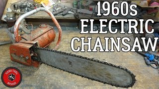 Download 1960s Electric Chainsaw [Restoration] (Part 1 of 2) Video
