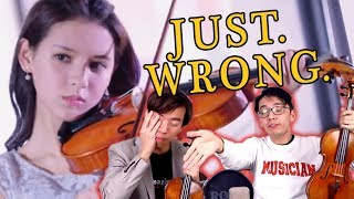 Download The WORST Violin Portrayal We've EVER Seen Video