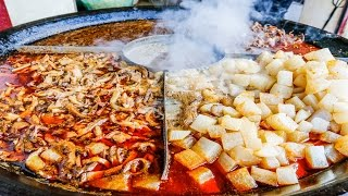 Download Chinese Street Food Tour in Wuhan, China | Street Food in China BEST Noodles Video