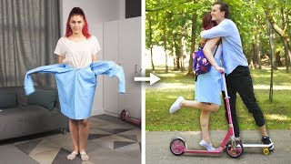 Download 13 Cool DIY School Clothes and Fashion Hack Ideas by Crafty Panda Video
