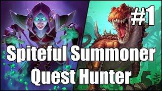 Download [Hearthstone] Spiteful Summoner Quest Hunter (Part 1) Video