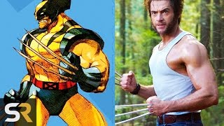 Download 10 Superheroes Who Look NOTHING Like The Comics (Wolverine, Deadpool and more!) Video