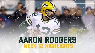 Download Aaron Rodgers Leads Packers with 313 Yards & 2 TDs (Week 12 Highlights) | Eagles vs. Packers | NFL Video