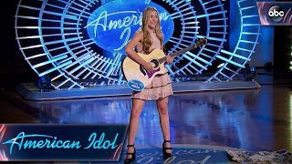 Download Harper Grace Auditions for American Idol With Down-home Original Tune - American Idol 2018 on ABC Video