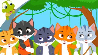 Download Five Little Kittens English Nursery Rhymes and Song for Kids Video