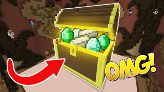 Download EL COFRE MÁS GRANDE DEL MUNDO! (RECORD MUNDIAL) - Minecraft Build Battle Video