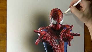 Download Amazing Spider-Man Drawing - How to draw 3D Art Video