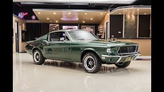 Download 1968 Ford Mustang Bullit For Sale Video